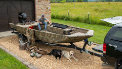 2021 - Lowe Boats - Rouchneck 2070 Waterfowl Tiller