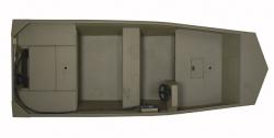 Lowe Boats Roughneck R1655TN Jon Boat