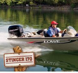 2008 Lowe Stinger 170