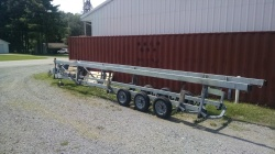 2009 hoosier pontoon trailer
