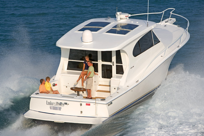 Research Luhrs Boats 41 Hard Top Cruiser Boat On Iboats Com