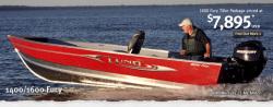 2011 - Lund Boats - 1600 Fury Tiller