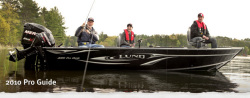 2011 - Lund Boats - 2010 Pro Guide