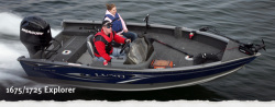 2011 - Lund Boats - 1725 Explorer SS
