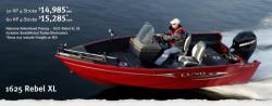 2011 - Lund Boats - 1625 Rebel  XL