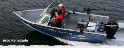 2011 - Lund Boats - 1650 Renegade Tiller