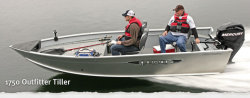 2012 - Lund Boats - 1750 Outfitter Tiller