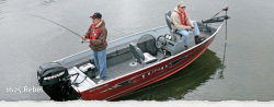 2012 - Lund Boats - 1625 Rebel SS