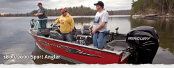 2012 - Lund Boats - 2000 Sport Angler