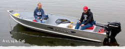2013 - Lund Boats - A 14
