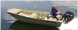 2017 - Lund Boats - 1852 MT Jon Boat
