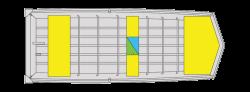 2020 - Lund Boats - 1448MT Jon Boat