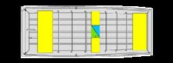 2020 - Lund Boats - 1648STD Jon Boat