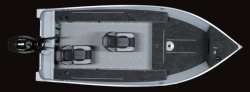 2020 - Lund Boats - 1400 Fury Tiller