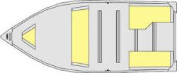 Lund Boats WC-12 Tiller Utility Boat