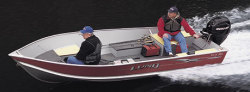 Lund Boats WC-16 Deluxe Tiller Utility Boat