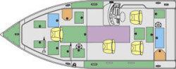 Lund Boats 2025 Pro V LE Utility Boat