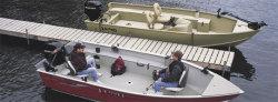 Lund Boats 1600 Alaskan Tiller Utility Boat