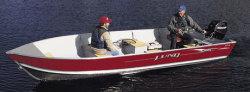 Lund Boats SSV-14 Tiller Utility Boat