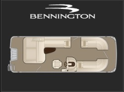 2018 Bennington Marine 23 GSB Syracuse IN