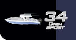 2009 - Midnight Express - 34 Open Sport