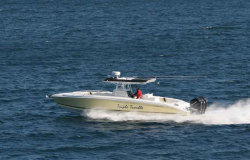Midnight Boats 37- Open Center Console Boat
