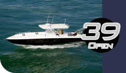 Midnight Boats 39- Open Center Console Boat
