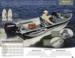 2013 - Misty Harbor Boats - Trophy 166C