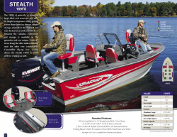2013 - Misty Harbor Boats - Stealth 189FS