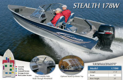2013 - Misty Harbor Boats - Stealth 178W