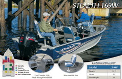 2013 - Misty Harbor Boats - Stealth 169W