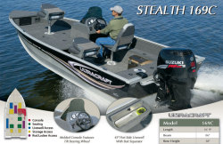 2013 - Misty Harbor Boats - Stealth 169C