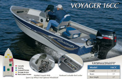 2013 - Misty Harbor Boats - Voyager 16 CC