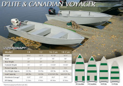 Misty Harbor Boats - 16 Canadian