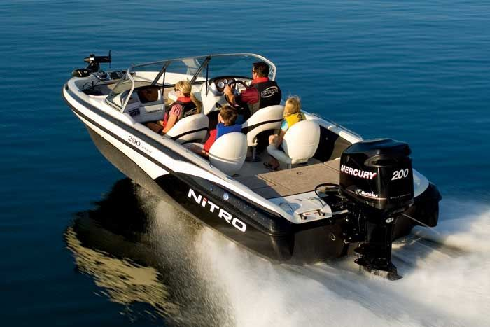 research 2009 nitro boats 290 sport on