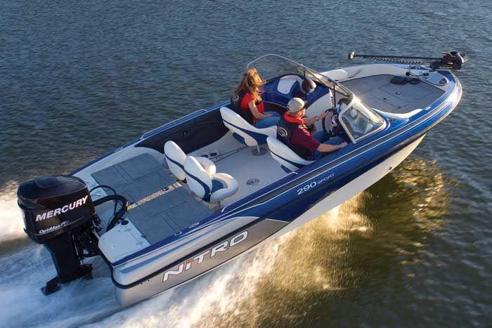 Research 2009 nitro boats 290 sport on for Nitro fish and ski