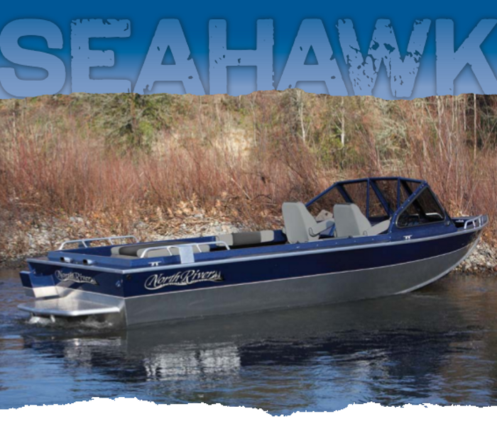 Research 2015 north river boats seahawk ib jet 22 on for Seahawk boat paint