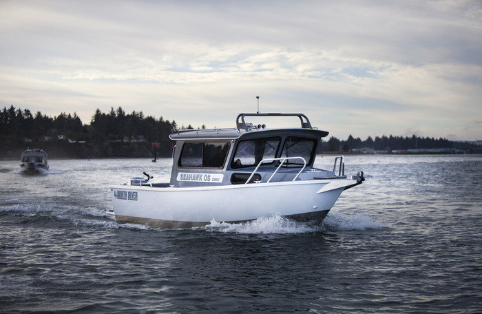 Research 2015 north river boats seahawk os 2300c on for Seahawk boat paint