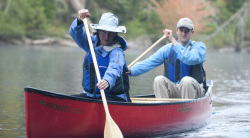 2014 - Old Town Canoe - Penobscot 16 RX