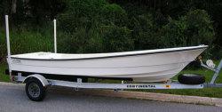 2012 - Panga Marine - 18 Barebones Skiff