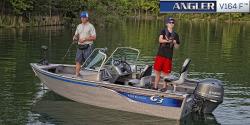 NEW 2016 G3 Angler V164F w/70hp Yamaha 4S & trailer