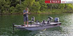2016 G3 Eagle 166 w/40hp Yamaha 4S & trailer