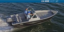 ALL NEW 2016 Guide V177WT w/70hp Yamaha 4S OB & trailer