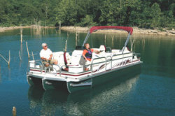 Playcraft Boats 2200 Sunfish Hybrid Pontoon Boat