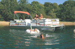 Playcraft Boats 24- Clipper Pontoon Boat