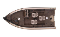 2010 - Polar Kraft Boats - V 168 SC