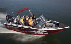 2010 - Polar Kraft Boats - V 170 FS