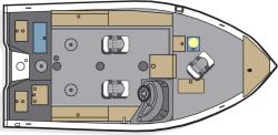 2012 - Polar Kraft Boats - V 180 SC