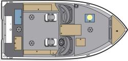 2012 - Polar Kraft Boats - V 179 DC