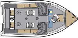 2012 - Polar Kraft Boats - V 163 DC